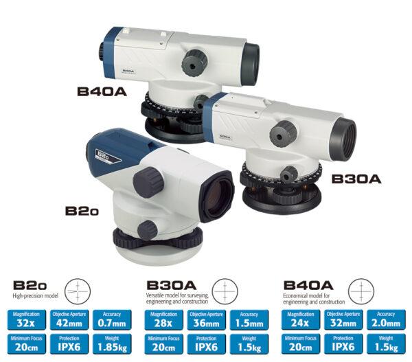 SOKKIA B20 Optikai szintezőműszer