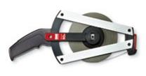 BMI501344100AF Mérőszalag, 100 m, lakkozott acél, mm osztással