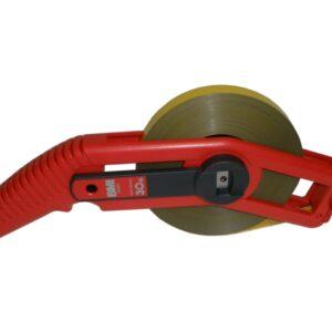 BMI505324030AF mérőszalag, 30 m, acél műanyag bevonattal, mm osztással
