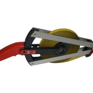 BMI505344050AF mérőszalag, 50 m, acél műanyag bevonattal, mm osztással