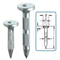 10TK-25 Laposfejű acél pontszeg/betonszeg 25 mm