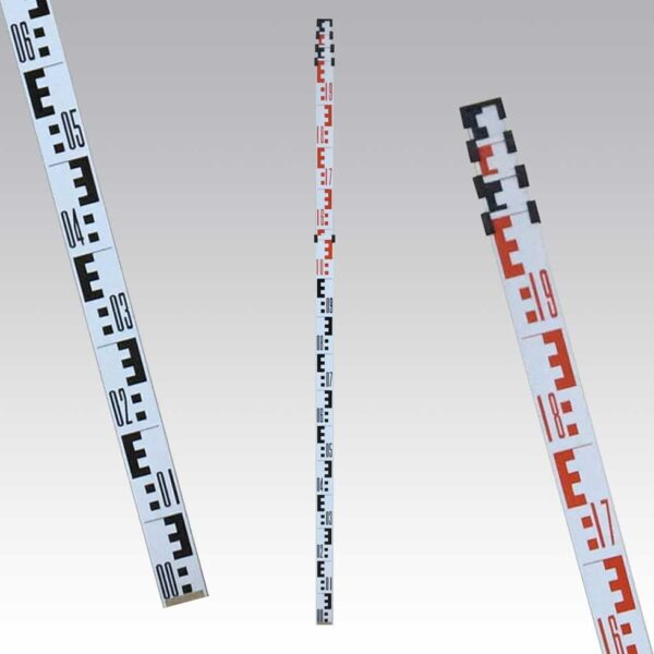 ROD5N Teleszkópos aluminium szintezőléc (Geomax) , 5 méteres 5 taggal