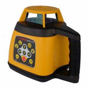 SPIN210 Többfunkciós automata szintező forgólézer (vsz. + függ. automata), akkumulátorral, érzékelővel, léc adapterrel