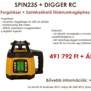 SPIN235+DIGGER RC Szett