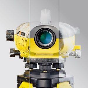 ZDL700 Digitális szintezőműszer Készletben, nagyítás 24x, 0,7-1 mm/km pontossággal, beépített memóriával