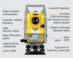 Zoom 20 PRO Mérőállomások