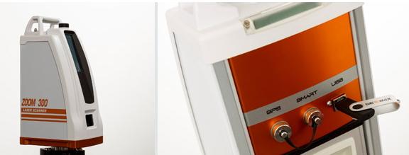 Geomax Zoom 300 lézerszkenner